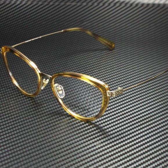 Versace Pale Gold Eyeglasses